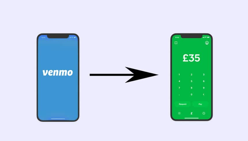 how to send money from venmo to cash app