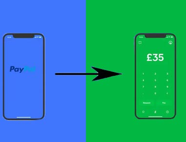 paypal to cash app via paypal app